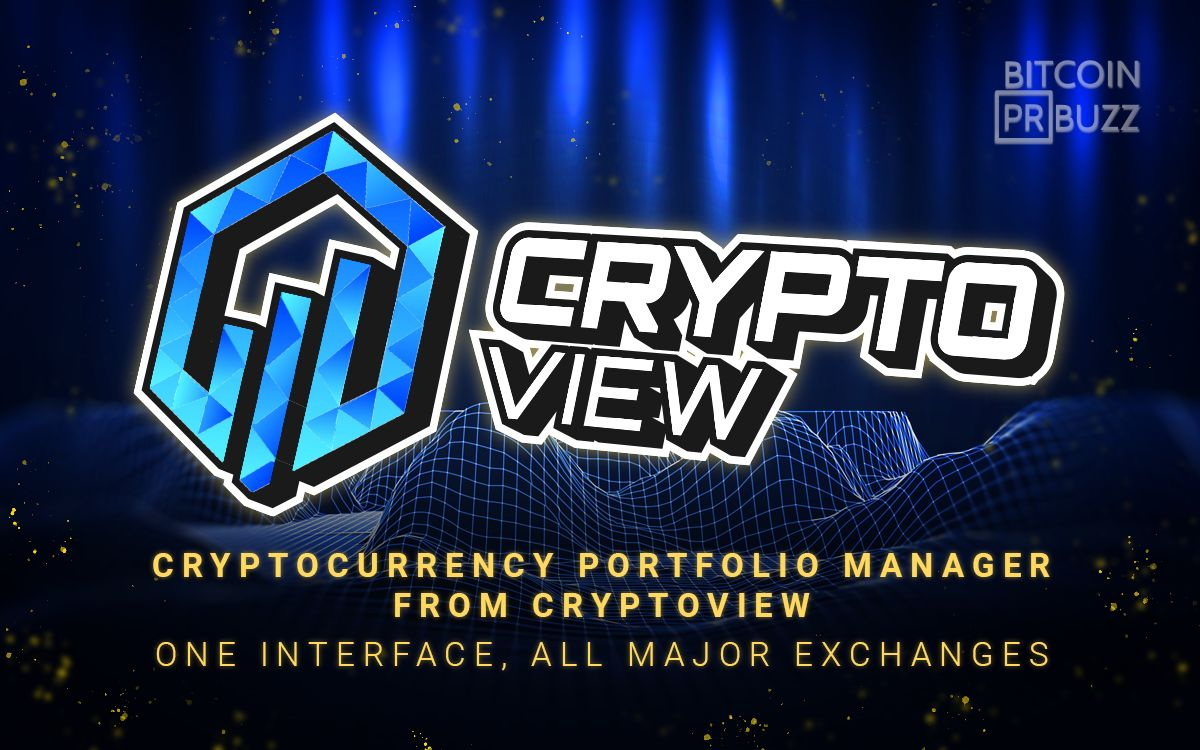 Cryptocurrency Portfolio Manager from CryptoView | One Interface, all Major E...