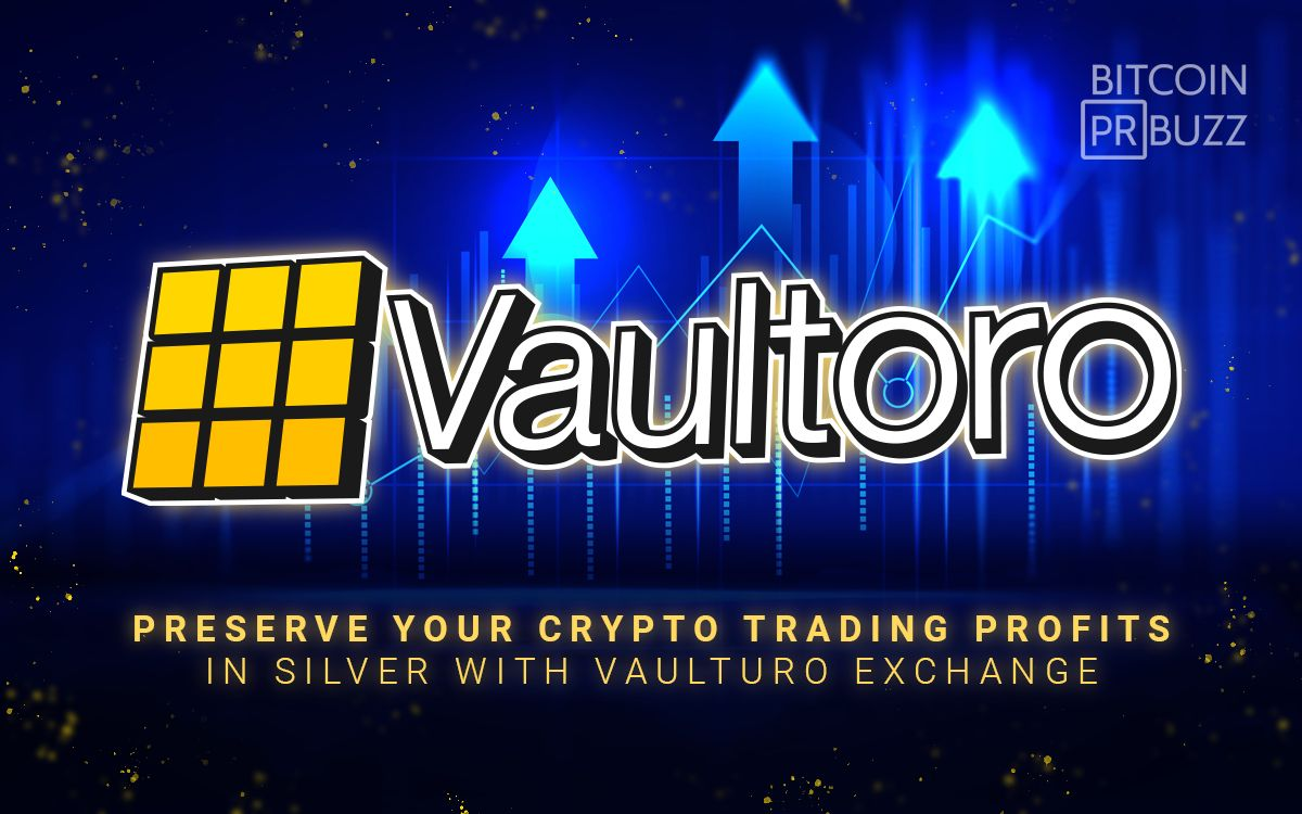 Preserve Your Crypto Profits in Silver with Vaultoro Exchange