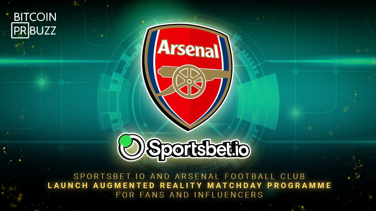 Sportsbet.io and Arsenal FC Launch Augmented Reality Matchday Programme for F...