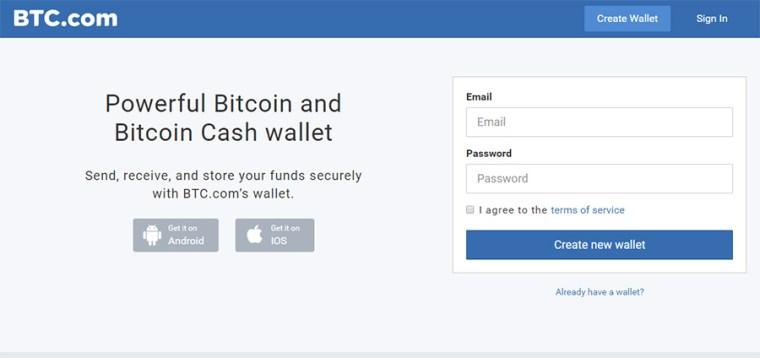 Btc Bitcoin Wallet