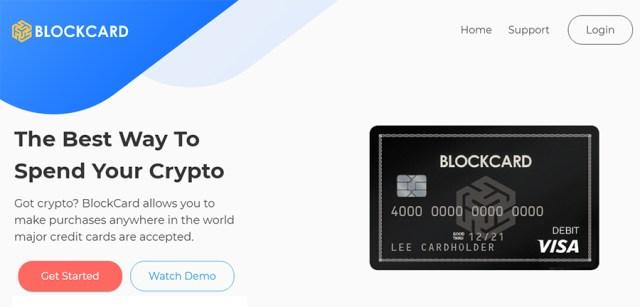 Blockcard Bitcoin Debit Card