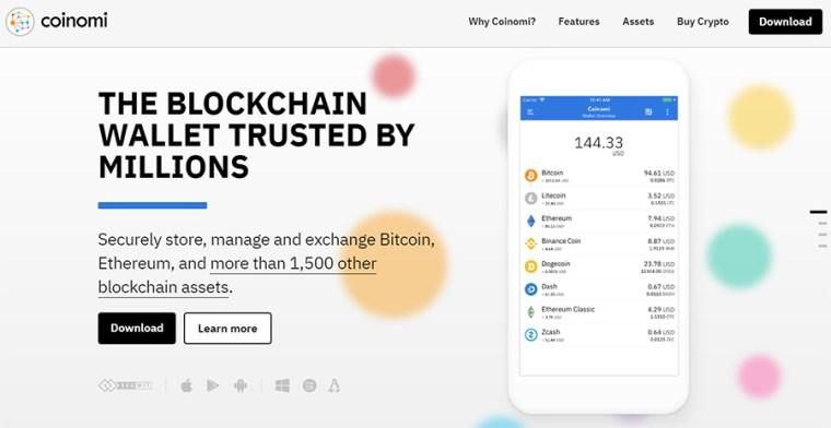 Coinomi Bitcoin Wallet