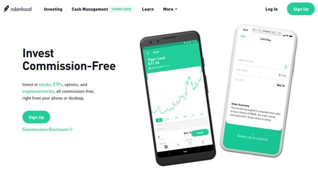 Robinhood - Crypto & Stock Investments