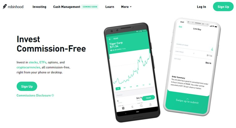 Robinhood - Crypto & Stock Investments