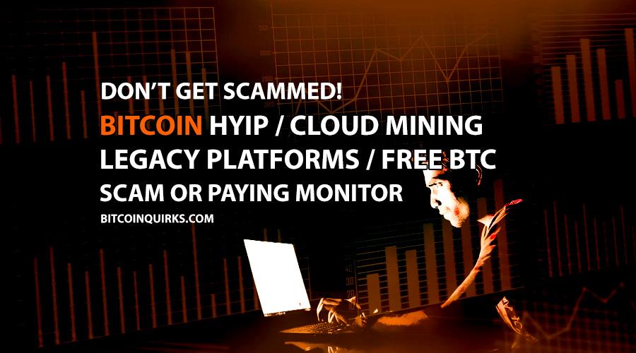 Bitcoin Hyip Cloud Mining Monitor