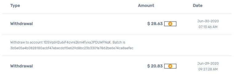 My Micro Profits Payment Proof