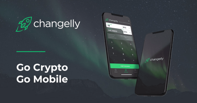 Changelly Exchange Now Available On Android - image 1 - bitcoinshirtz