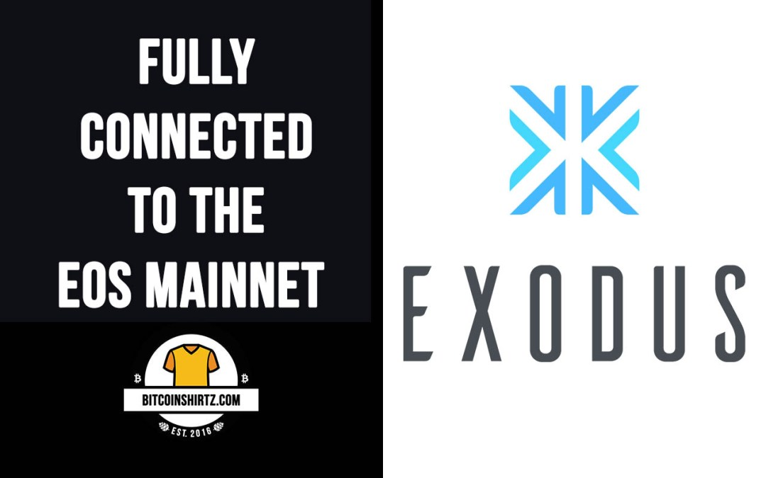 Exodus Wallet Now Fully Connected To The EOS Mainnet
