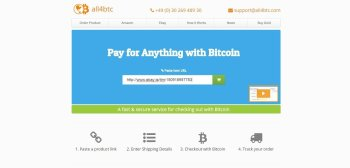 Enter the URL into all4btc.com