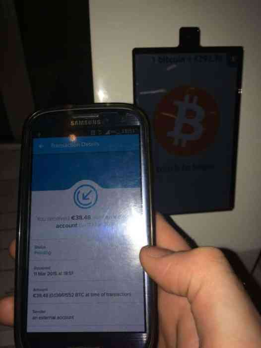 Bitcoins received in my wallet, confirming away