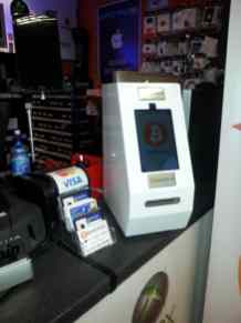 Bitcoin ATM located in GSM Solutions, Upper Abbey St