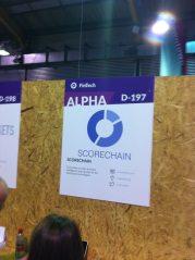 scorechain-websummit-booth