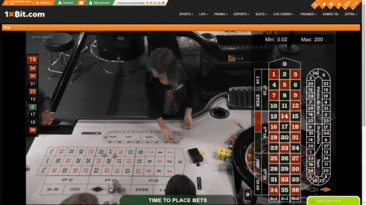 Live Roulette is from a casino