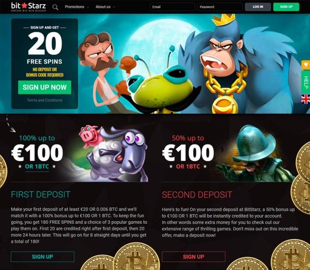 Bitstarz no deposit bonus 20 gratissnurr