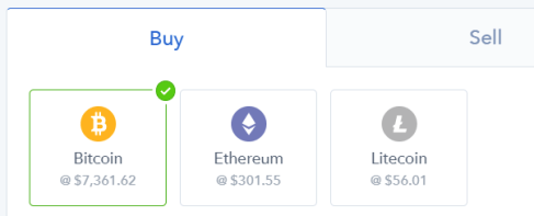 bitcoin litecoin ethereum coinbase buy sell