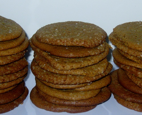 Chewy Molasses Cookies and a bouquet of Lady's Slippers…just kidding!