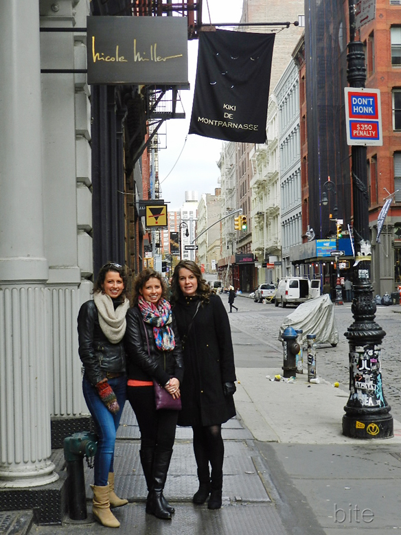 my daughters in Soho