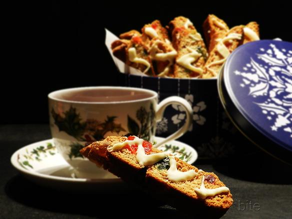 bejeweled biscotti