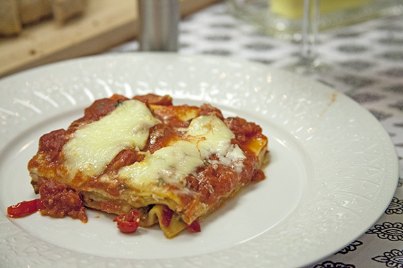 lasagna for snowmobilers