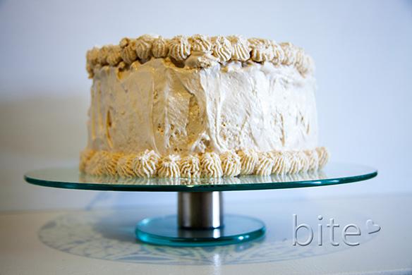 triple decker coconut cake