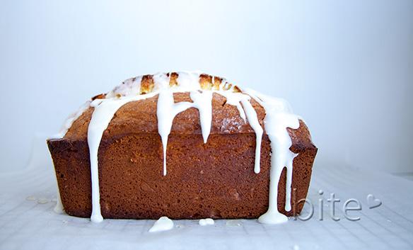 lemony lemon tea bread infused with fresh thyme
