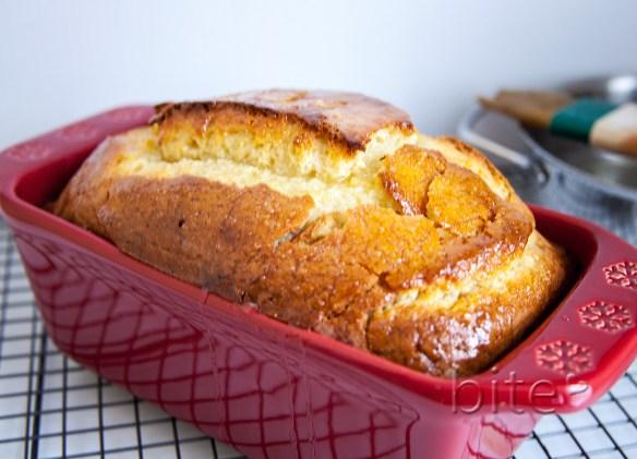 Lemony lemon bread