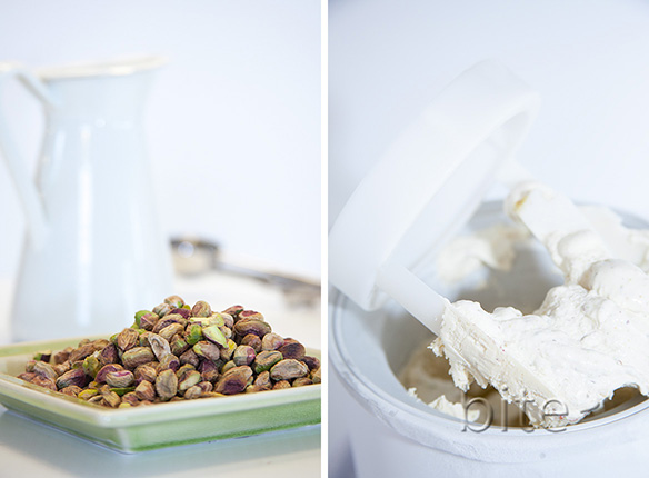 Toasted Pistachio and Pure Maple Syrup Ice Cream