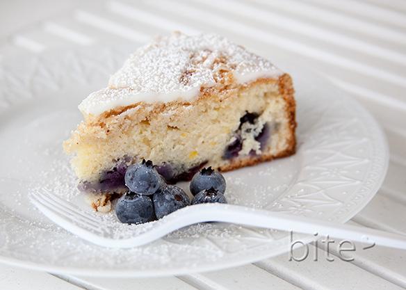 High Bush Blueberry Coffee Cake