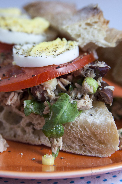 tuna sandwich for a chef / bitebymichelle.com