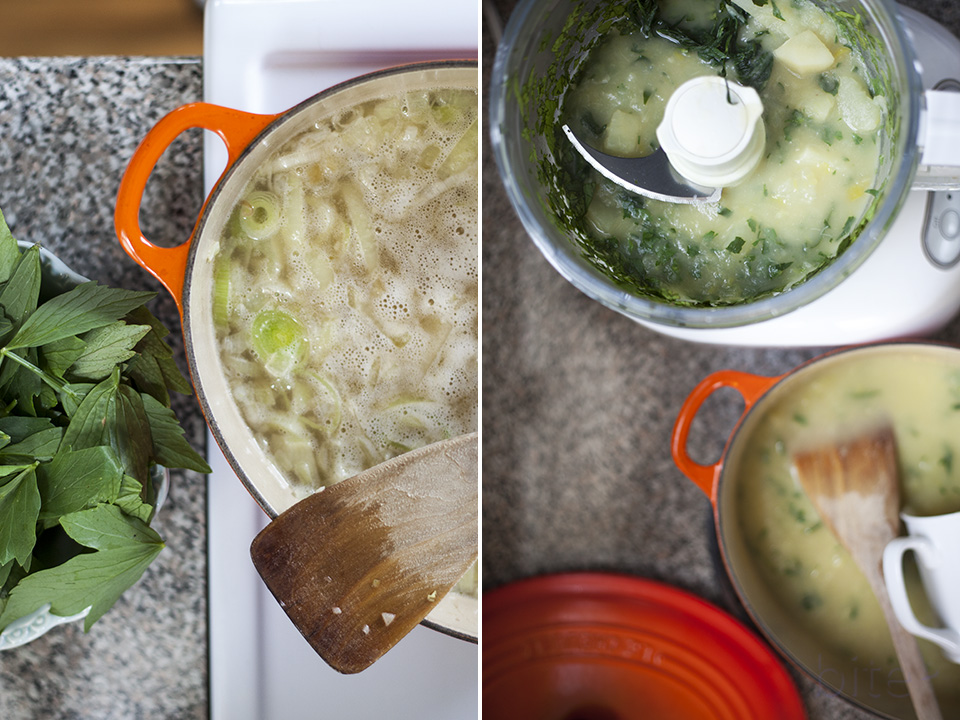 lovage vichyssoise and cyber mothering