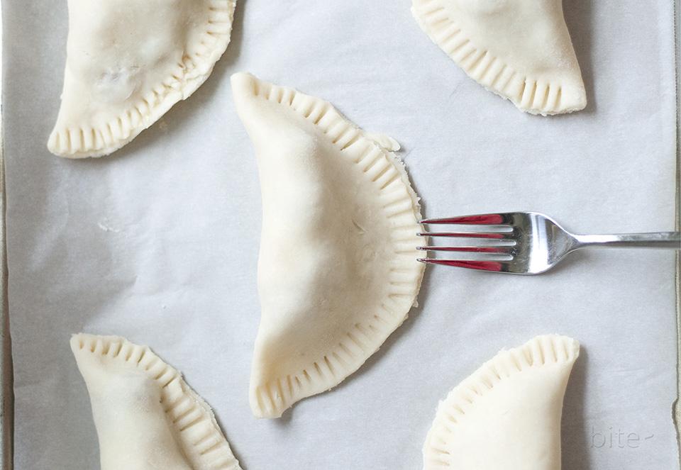 raspberry hand pies / bitebymichelle.com