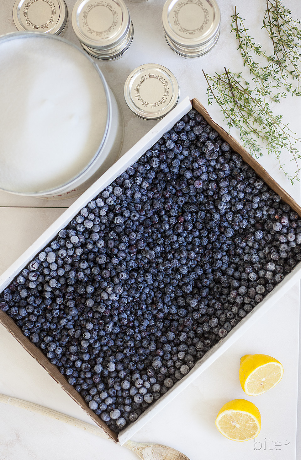 Wild Blueberry with Thyme Jam