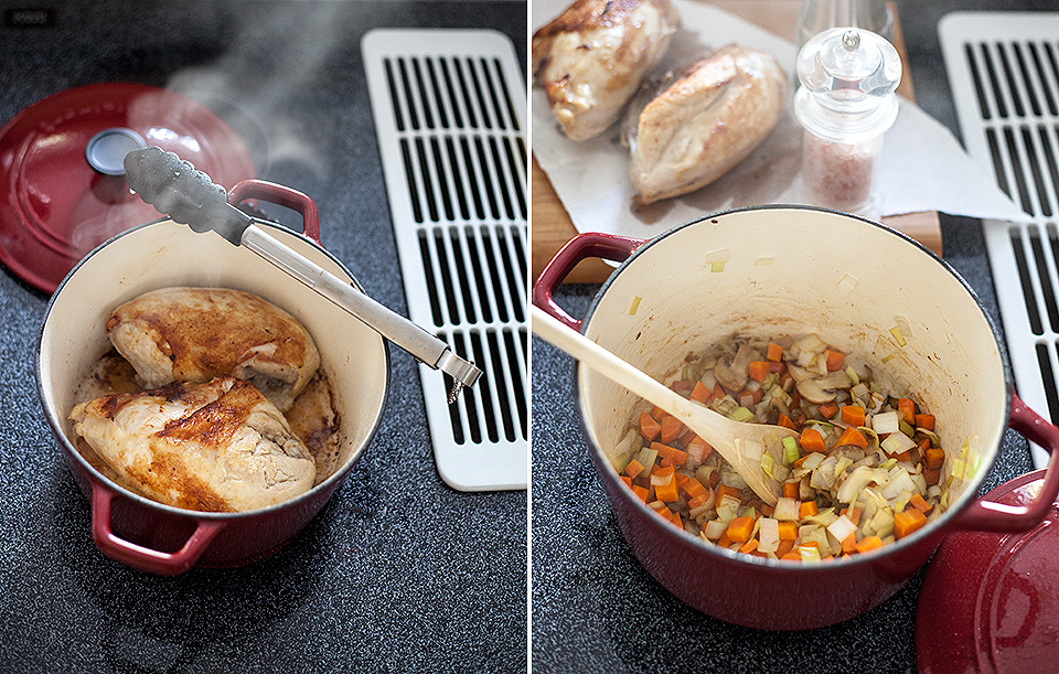 how to make awesome chicken pot pie
