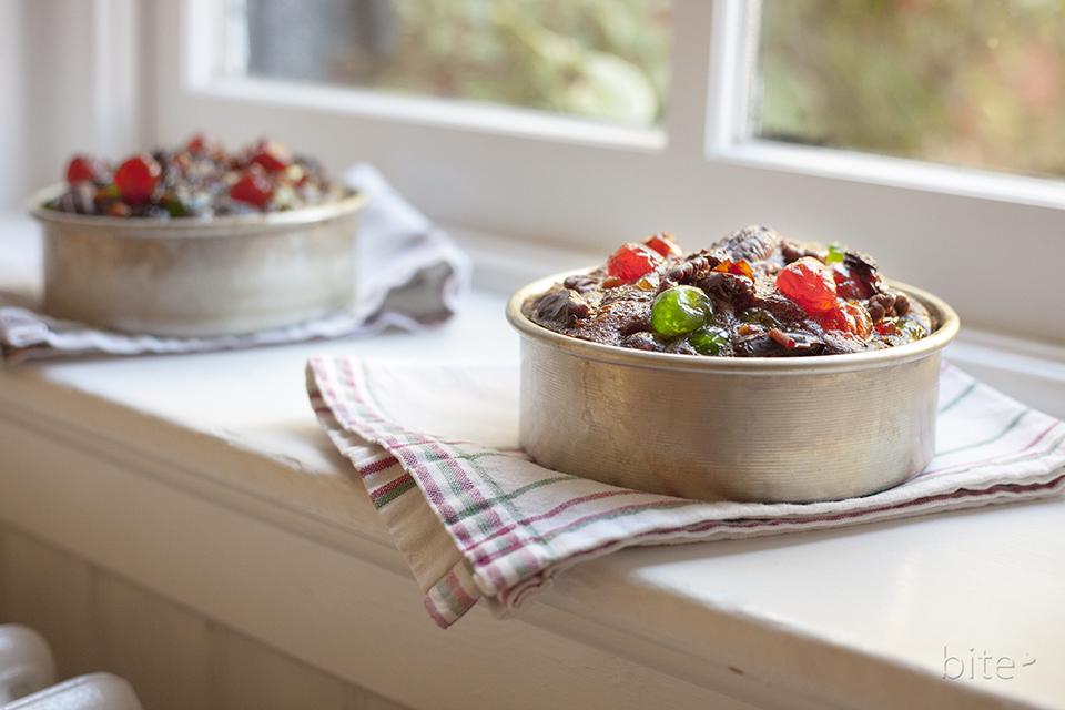 Christmas dark fruitcake - one hundred year old recipe