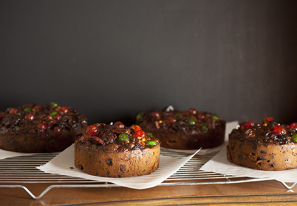 Christmas dark fruitcake - one hundred year old recipe