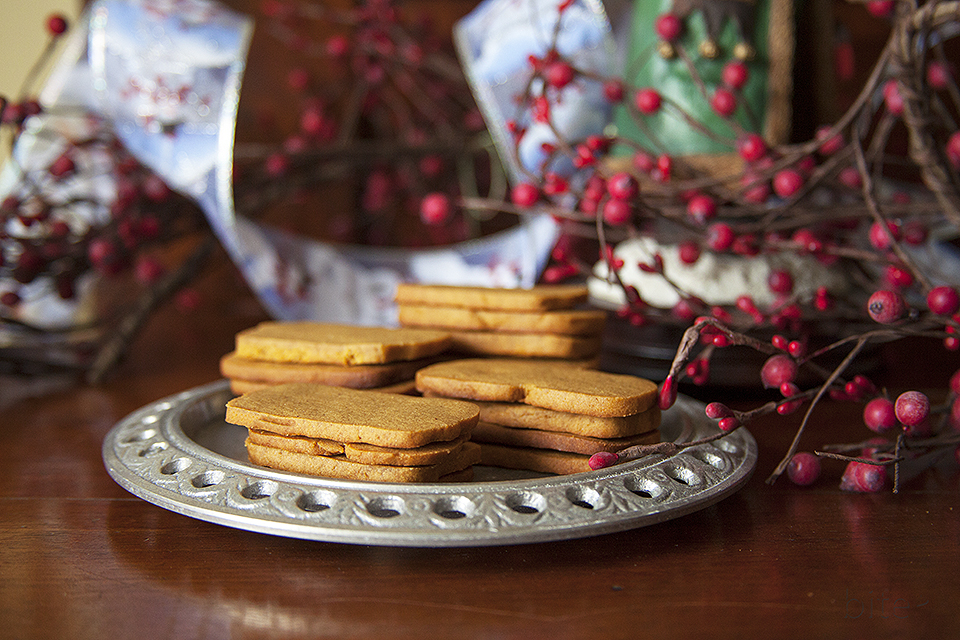 ice box gingersnaps - easiest cookie you'll ever bake