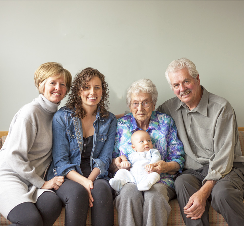 five generations and a pumpkin soup