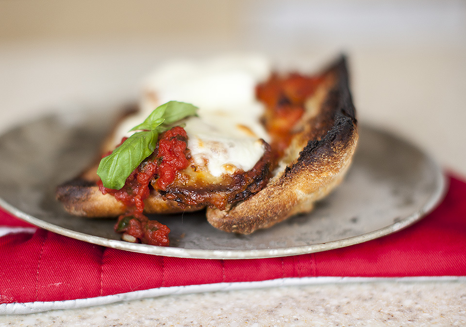 eggplant parm hero – carnivores beware!