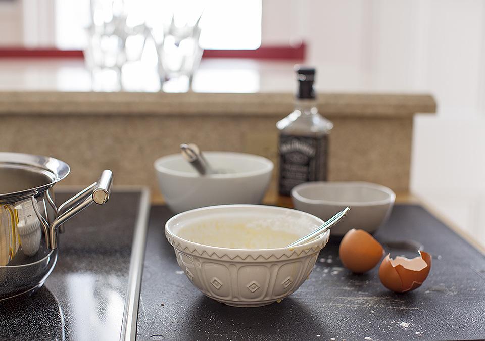 butterscotch pudding - not a powder mixed into cold milk