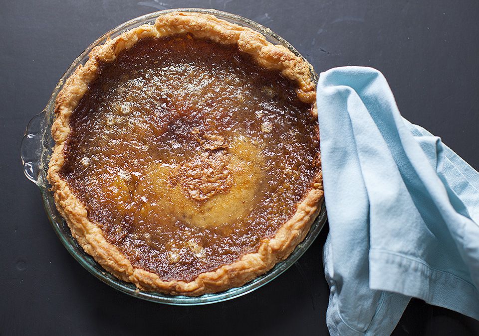 sugar pie –  a stunning combination of sweet, silk and crisp
