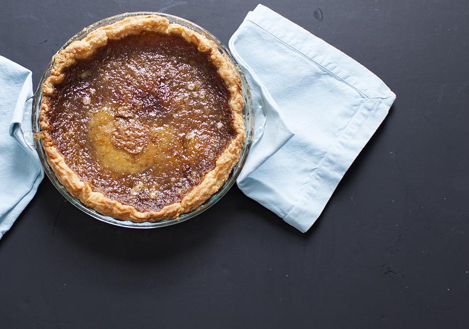 sugar pie -  a stunning combination of sweet, silk and crisp