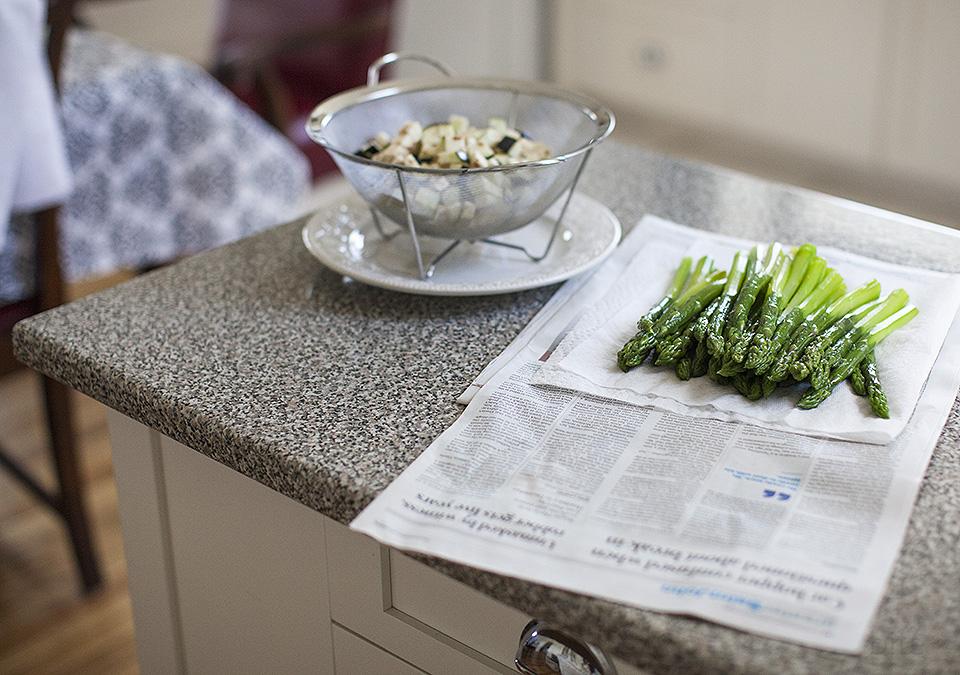 eggplant salad -confessions of a blogger l bitebymichelle.com