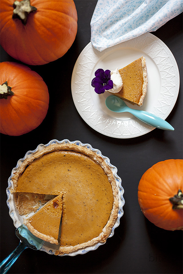 pumpkin pie or better yet grateful pie l bitebymichelle.com