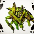 shishito peppers - quick and dirty - bite