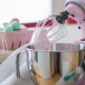 pink coconut meringues for Easter - bitebymichelle.com