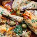 one skillet italian chicken l bitebymichelle.com