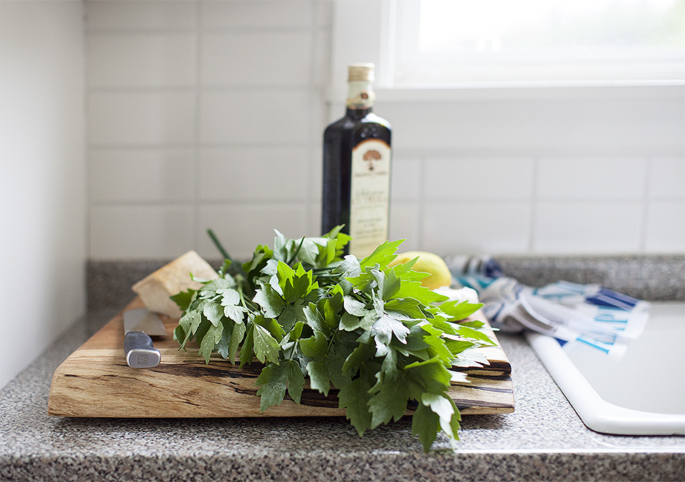 lovage pesto - herbalicious l bitebymichelle.com