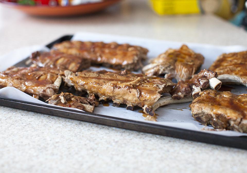 a great rib recipe – sticky, easy, yummy
