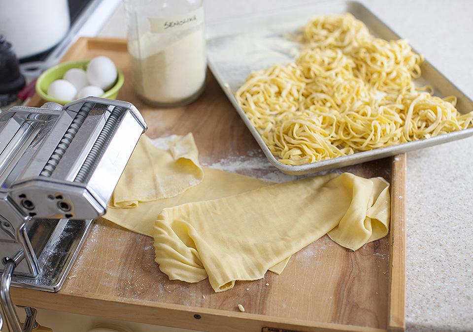 fresh pasta - myth busted l bitebymichelle.com