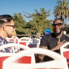 Deontay Wilder bus tour